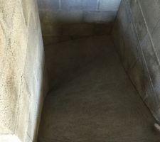 Preparation escaliers sous sol