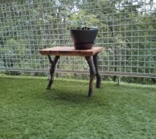 Table de jardin DIY