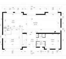 nouveau plan avec modif du hall creation du dressing et du couloir et agrandissement du cellier