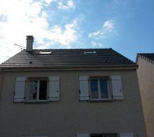 les 2 fenetres de toit 78x98 sont posees ggl mk04 3076