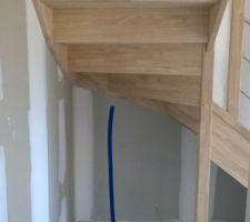 futures toilettes sous l escalier