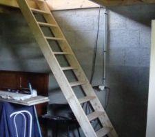 escalier du grenier
