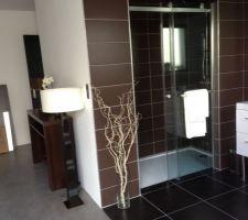 Salle de bain et chambre parentale