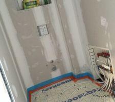 Plancher chauffant wc RDC