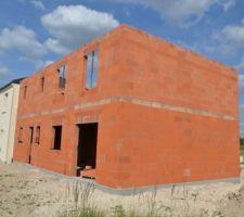 2015 06 25 elevation des murs de l etage