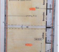 sous sol detail dimensions retirees sur demande du constructeur