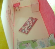 Maquette chambre Eva