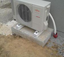 le module exterieur de la pompe a chaleur 6kw