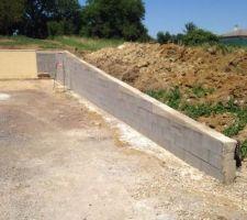 mur de soutennement