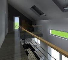 3d de la maitre d oeuvre de l etage