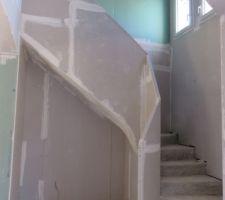 Escalier étage terminé