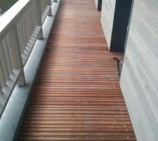 pose terrasse balcon