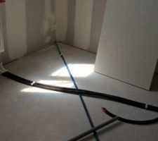 chauffage chambre 1 et gaine electrique