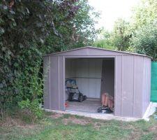 La cabane enfin au fond du jardin !
