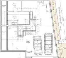 Plan du sous-sol à aménager