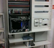 baie electrique et informatique