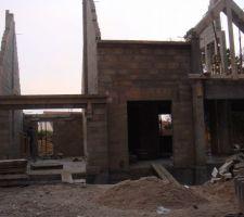 elevation des murs de l etage