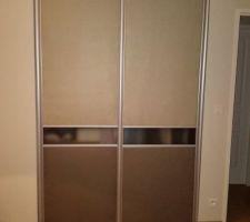Porte de placard fait maison
