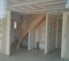 escalier monte