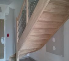 notre escalier dans l entree