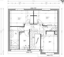 plan modifie de l etage apres la demande de modification de la mairie
