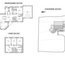 projet plan maison