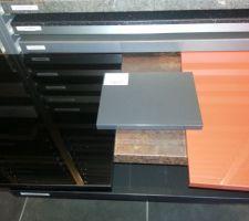 couleurs facades caissons et plan de travail