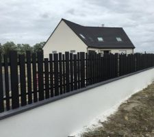 installation portail et cloture en facade