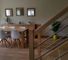 table et bahut achetes chez crack en belgique chaises achetees sur le site kavehome