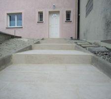 carrelage 30x60 stone edge ton beige de chez lm pose temrinee