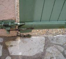 mecanisme ouvrant pour portail en pente