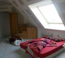Chambre d'amis... deuxieme pièce la plus aboutie de la maison ^^