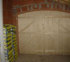 Porte de garage, de l'intérieur