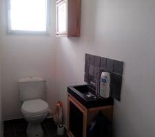 sanitaire du bas