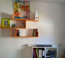 bureau en cours de decoration