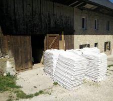 Livraison Pellets 08/2015 (6 tonnes)