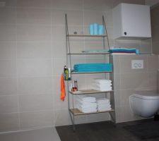 wc et douche de la buanderie cellier