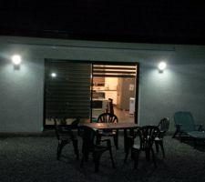 eclairages exterieurs installes