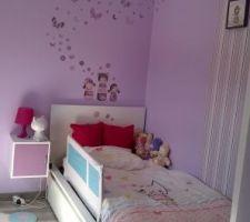 chambre de la puce version grande petite fille ici avec son lit de grande