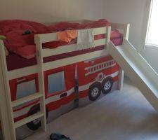 le lit de pompier de ma choupette