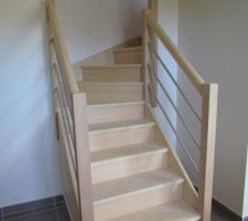 escalier avant traitement