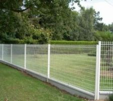 Voilà notre choix pour la clôture devant la maison