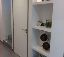 evolution de saison pour les niches du couloir