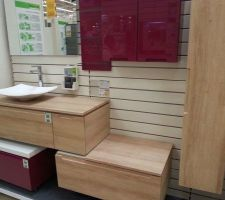 le meuble de salle de bain