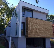 maison contemporaine ossature bois en seine et marne
