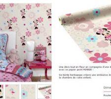 pour la chambre de margaux sous bassement en minnie peinture rose barbapapa