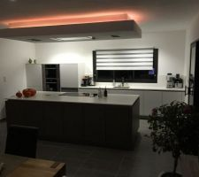 cuisine vue de nuit