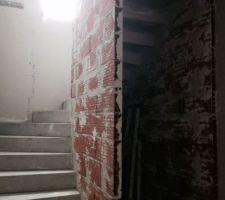 bas escalier