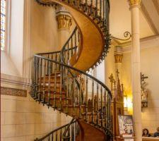 escalier de santa fe