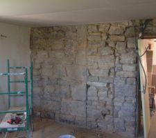 Piquage mur cuisine